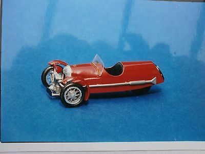 Morgan 3 Wheeler Sports Car Kit - White Metal Model To Assemble And Paint 1:43 • 32.50£