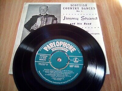 £3.25 • Buy SCOTTISH COUNTRY DANCES No.1 JIMMY SHAND AND HIS BAND 7  SINGLE  EP GEP8535 Good