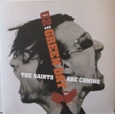 U2 & GREEN DAY - The Saints Are Coming ~ 7  Single PS #3293 • 17.49£