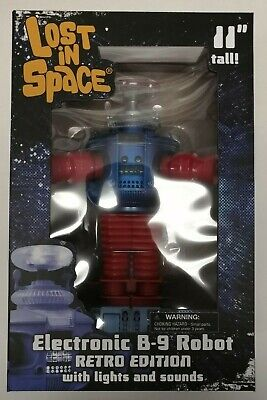 $ CDN60 • Buy Lost In Space B-9 Electronic Retro Edition Robot -Diamond Select Toys