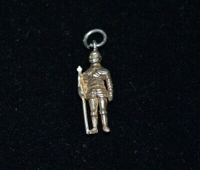 Vintage Sterling Silver  Soldier Charm / Pendant (not Scrap)  • 16£
