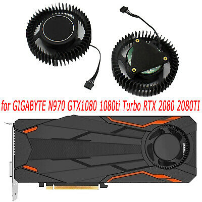 AU31.28 • Buy Graphics Card Cooling Fan For GIGABYTE N970 GTX1080 1080TI Turbo RTX 2080 2080TI