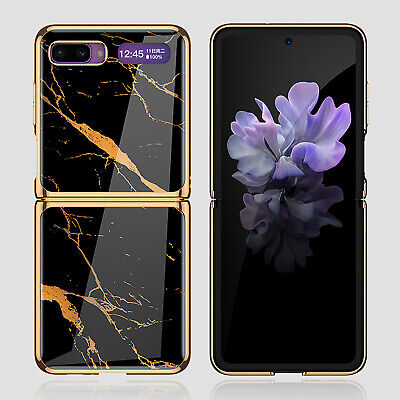 AU29.87 • Buy For Samsung Galaxy Z Flip Tempered Glass Shell Phone Case Protectection Cover