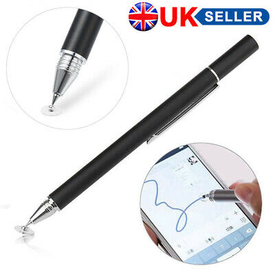 Thin Capacitive Touch Screen Pen Stylus For IPhone Samsung Phone IPad Tablet UK • 1.78£