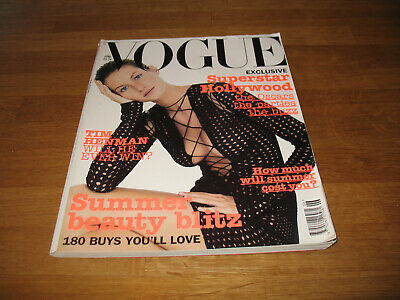 £7.99 • Buy Vogue Magazine # 2002 June UK Issue Gisele Bundchen Cover By Corinne Day