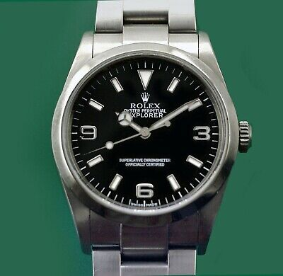 $ CDN8118.75 • Buy Conteprorary Rolex Explorer I Reference 114270 Letter K Year 2000