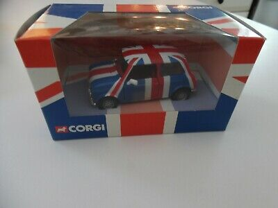 $19.99 • Buy Corgi Classics Mini Cooper Union Jack Flag Paint 2001 New 1/36 Scale Diecast
