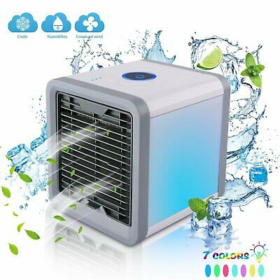 AU66.95 • Buy Portable Mini AC Air Conditioner 3 In 1 Unit Cooling Fans Humidifier Purifier US