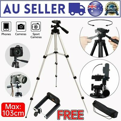 AU7.31 • Buy Universal Camera Tripod Mount Holder Stand For IPhone Samsung Mobile Phone DN Di