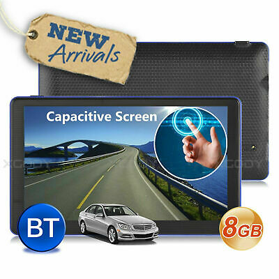 AU98.36 • Buy 7'' Truck Car GPS Navigator 8GB Navigation System Sat Nav W/ Bluetooth Free Maps
