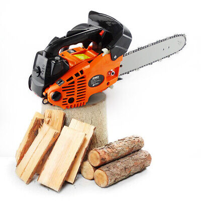 """View Details Chainsaw 26cc 25cc Top Handle Petrol Chainsaw 2-Sroke 10"""" Bar Tree Pruning • 78.90£"""
