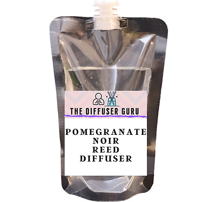 AU12.68 • Buy Pomegranate Noir REED DIFFUSER REFILL OIL MULTI SIZES **HIGHLY POTENT**
