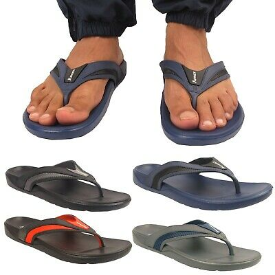 Mens Remax Toe Post  Flip Flops Lightweight Sports Sandals Mules Shoes Sizes Uk • 6.99£