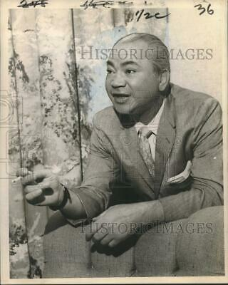 $ CDN24.25 • Buy 1959 Press Photo Barney Ross, Louisiana - Nox22098