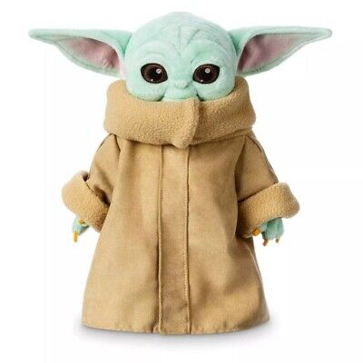 $12.99 • Buy Stars Wars The Mandalorian Baby Yoda Plush Toy Stuffed Doll Kids Cute Xmas Gifts