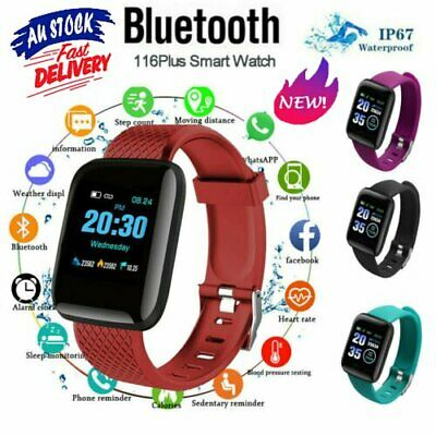 AU12.96 • Buy Smart Watch Band Sport Activity Fitness Tracker For Kids Fit For Android IOS KC