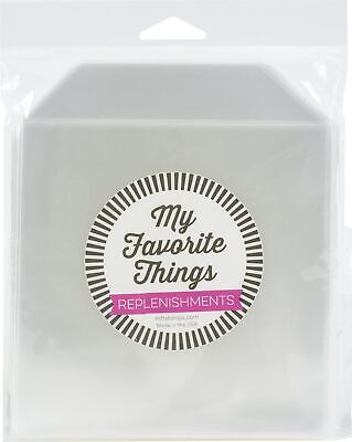 My Favorite Things Clear Storage Pockets 50/Pkg-Small - 5.1875 X5.25  • 7.56£