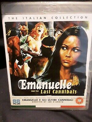 Blu-Ray Movie ~ Emanuelle And The Last Cannibals ~Italian Collection~NEW/SEALED • 10£