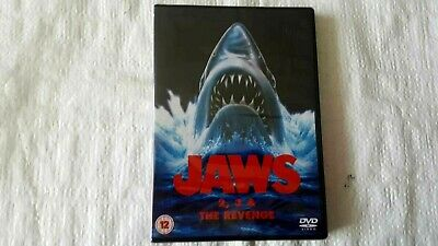 Jaws 2/Jaws 3/Jaws - The Revenge (DVD, 2009, Box Set) • 21.99£