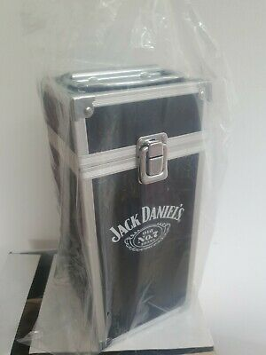 Jack Daniels Flight Case Box RARE COLLECTABLE BRAND NEW. (WITHOUT BOTTLE) Giftbx • 49.95£