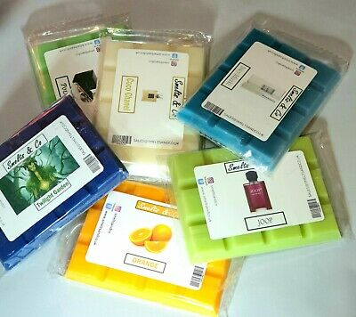 HIGHLY SCENTED Wax Melt Bars  -Vegan Friendly Soy Wax - Latest Scents  • 1.99£
