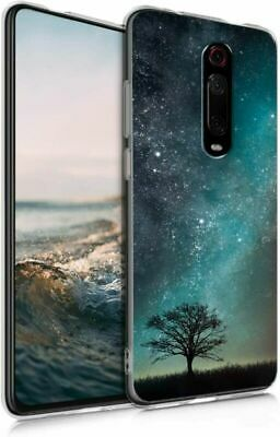 $24.99 • Buy Kwmobile Case Compatible With Xiaomi Mi 9T Cosmic Nature Blue / Grey / Black