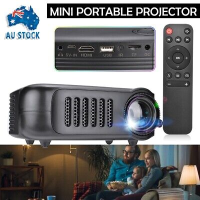 AU57.99 • Buy Durable Mini Portable Pocket HDMI Projector Movie Video Projectors Home Theater