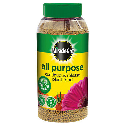 £14.99 • Buy Miracle-Gro All Purpose Continuous Release Plant Food Feed 1KG Shaker Jar
