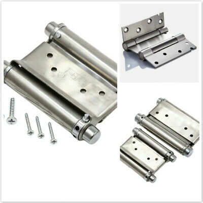 Double Action Spring Door Hinge Stainless Steel Door Restaurant Kitchen Hinge SF • 9.28£