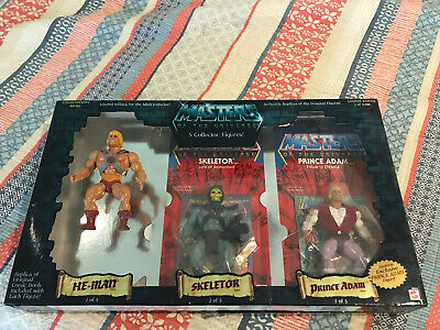 $300 • Buy Masters Of The Universe Commemorative 5 Pack He-Man