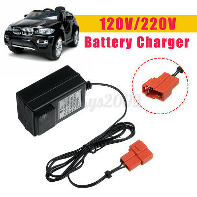 AU15.91 • Buy AU 6V Battery Charger For Kids Electric Ride On Car Bike Toys Scooter Buggy  D