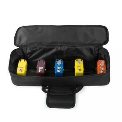 $ CDN75.84 • Buy AZOR AB-101 Mini Pedal Board And Bag Combo To Mount 6 Mini Guitar Effect Pedals