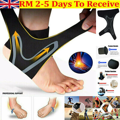 New Ankle Support Strap Medical Compression Foot Brace Elasticated Bandage Wrap • 6.29£