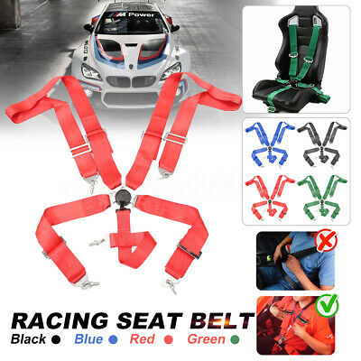 $ CDN62.98 • Buy 3'' 5 Point Sport Racing Style Harness Safety Seat Belt Camlock Quick Release
