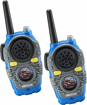 $ CDN32.94 • Buy Nascar Walkie Talkies For Kids, 2 Way Radio Long Range, Light, Sound Effects...