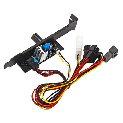 £4.18 • Buy 3 Channels Fan Temperature Controller Speed Governor Cooling Kit For PC Fans