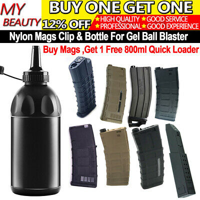 AU19.99 • Buy Nylon Mags Clip For Gel Blaster Mag-Fed 7-8mm Gen8 GEN9 GEN10 SKD Vector M97