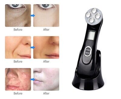 AU29.23 • Buy 5 In 1 RF EMS Radio Frequency LED Light Therapy Wrinkle Removal Beauty Machine