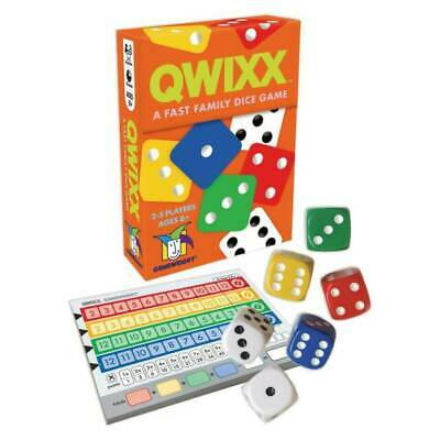 $ CDN25.28 • Buy Gamewright 1201 Qwixx - A Fast Family Dice Game NEW
