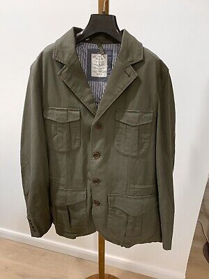 AU120 • Buy MJ Bale Olive Green Cotton Field Jacket (worn Only Once)