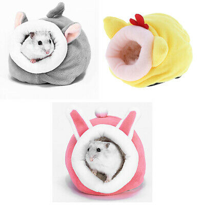 £7.05 • Buy 3pcs Chinchilla Hedgehog Guinea Pig  Ferret Bed Accessories Cage Toys House