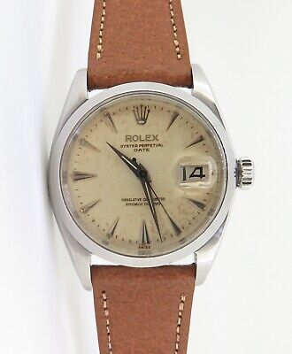 $ CDN5195.62 • Buy .Vintage 1960 Rolex Oyster Date Mens 1560 Butterfly Automatic Watch Ref 1500