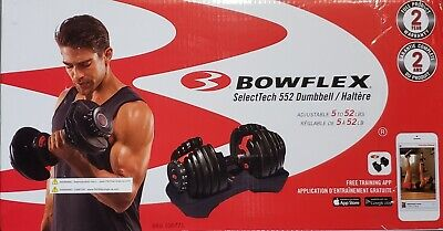 $ CDN450 • Buy Bowflex SelectTech 552 Adjustable Single Dumbbell *BRAND NEW *