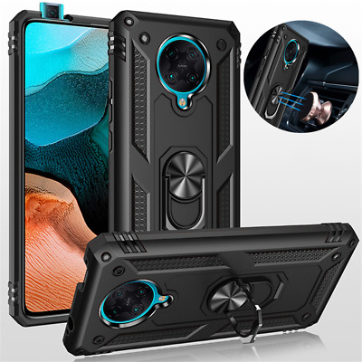 AU6.55 • Buy For Xiaomi POCO F2 Pro Shockproof Heavy Duty Ring Holder Stand Armor Case Cover