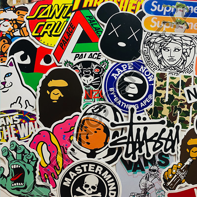 $ CDN3.79 • Buy Hypebeast Stickers *PICK YOUR OWN* - Stussy Nike Bape Palace Skate Brand New