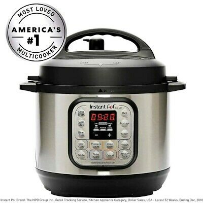 $99.99 • Buy Instant Pot Duo Mini 7-in-1 Electric Pressure Cooker, Rice Cooker(6 Quart)