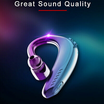 $12.99 • Buy Wireless Bluetooth Headphone For Ear Hook Headset Stereo Earphone Sport Handfree