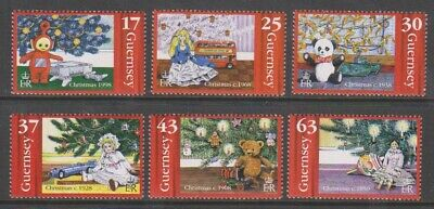Guernsey - 1998, Introduction Of The Christmas Tree Set - MNH - SG 810/15 • 1.95£