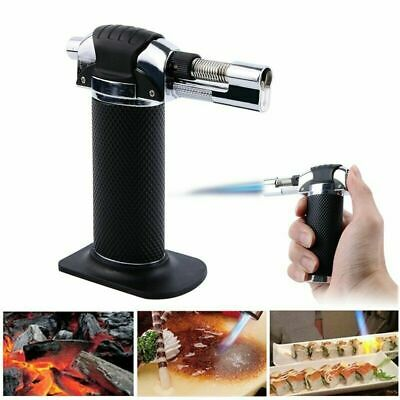 Butane Gas Lighter Blow Torch Flame Kitchen Chefs, Soldering, DIY Refillable  • 7.99£