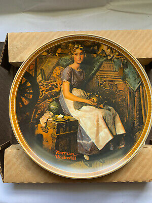 $ CDN11.87 • Buy Edwin M Knowles Norman Rockwell Dreaming In The Attic Collector Plate